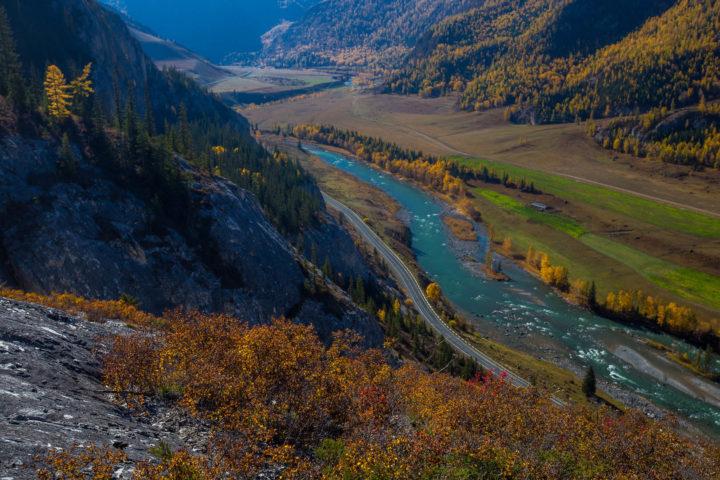 1. Чуйский тракт и река Чуя