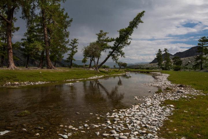 8. Протоки реки Ховд