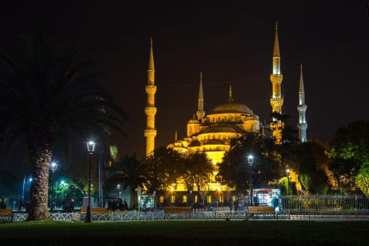 1.  Голубая мечеть