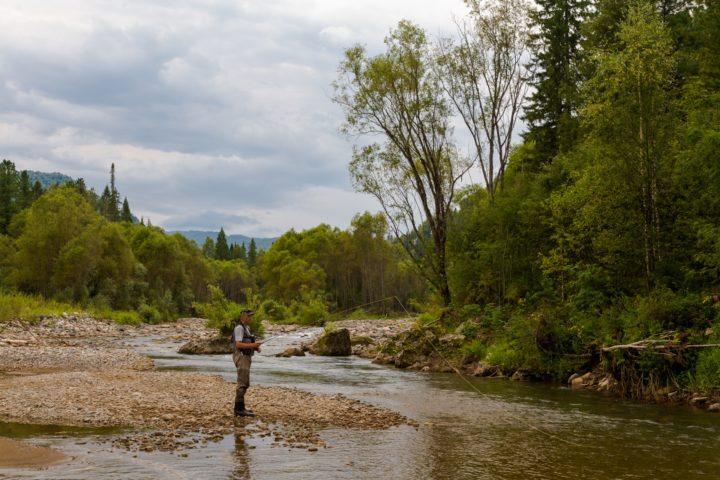 1. Ловля в ручьях