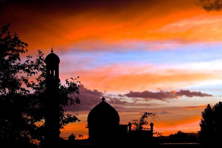 1. Вечерний Душанбе. Фотография Акмала Усманова