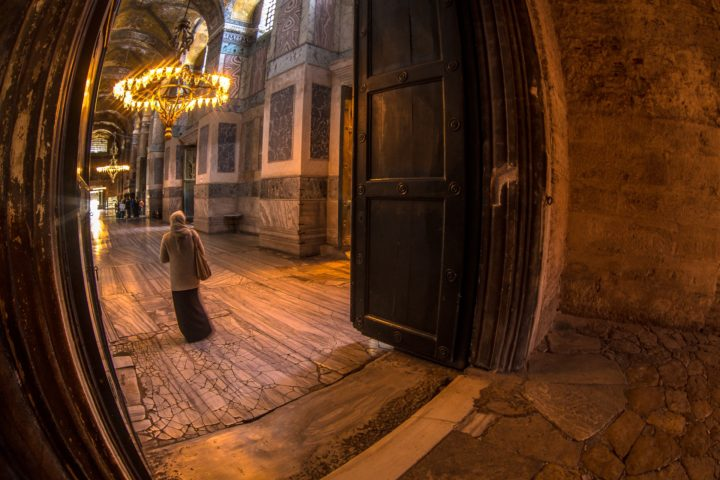 2. Вход в Святую Софию