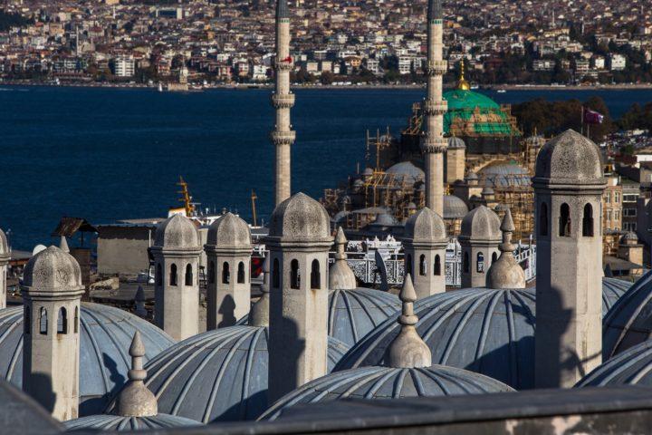 2. Вид на Новую мечеть