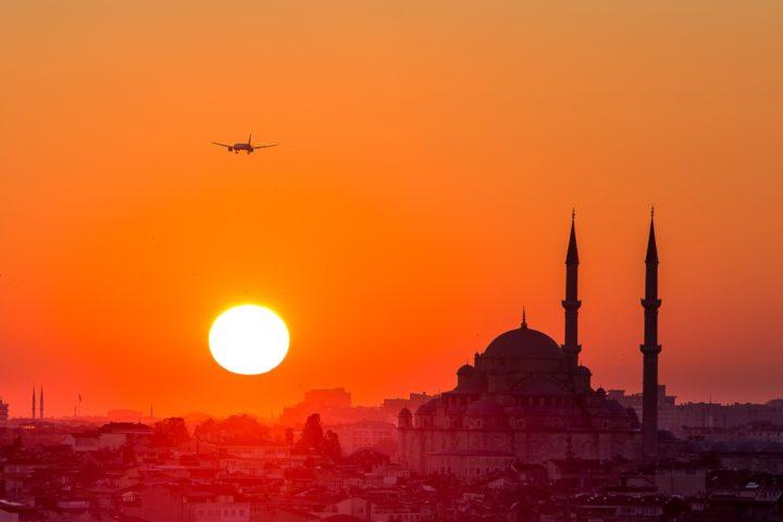 2. Закат над Стамбулом с Галатской башни