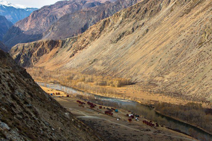 База в долине Чулышмана