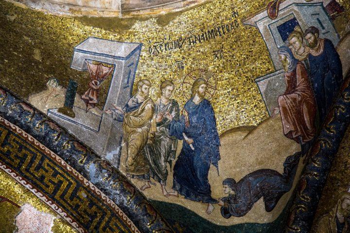 3. Фрески церкви Хора