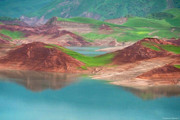 4. Нурекское водохранилище