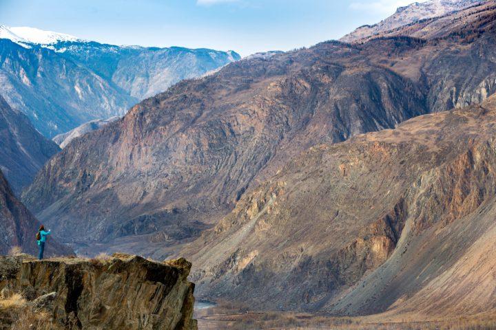 Вид с перевала Катуярык