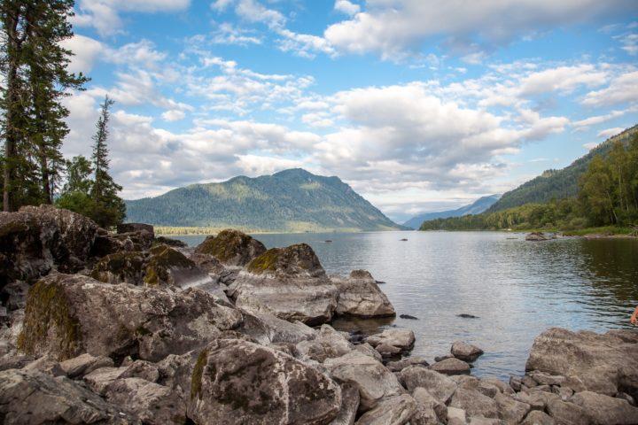 4. Заливы озера