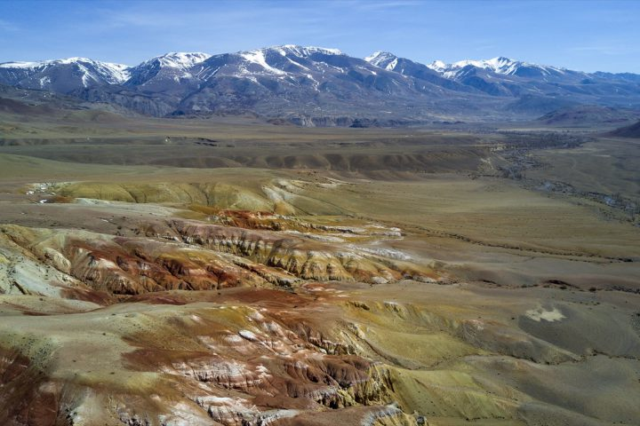 Марсианские пейзажи Кызыл-Чина