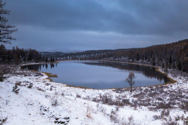 6. Снег на Улаганском плато