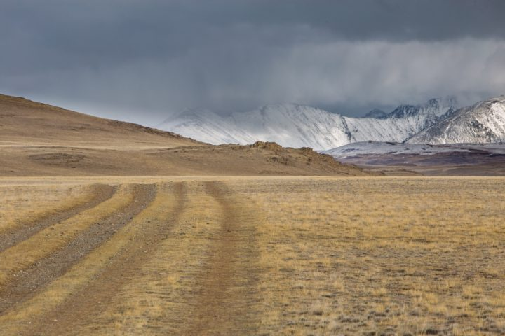 7. Дорога вдоль Юстыта