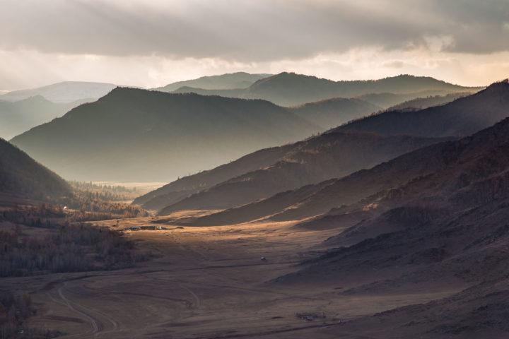 2 день Вид с перевала Чике-таман