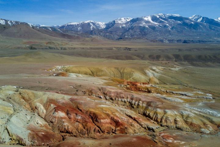 2. Марсианские пейзажи Кызыл-Чина