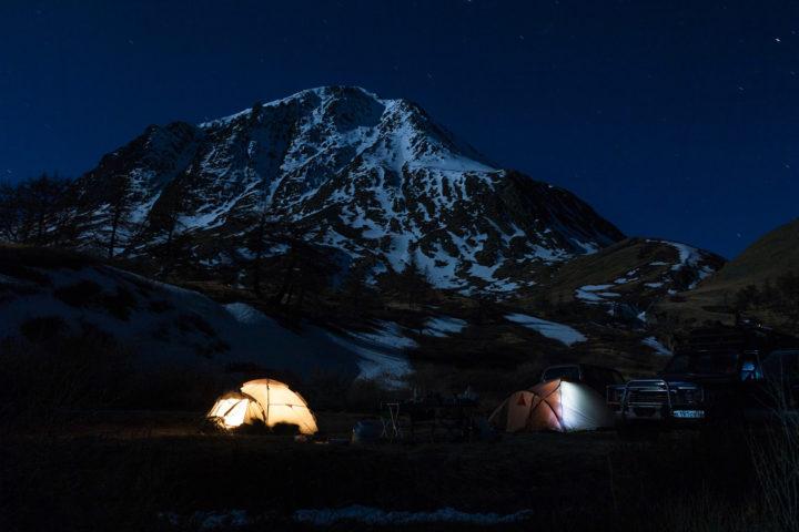3. Ночевка в долине Аккола