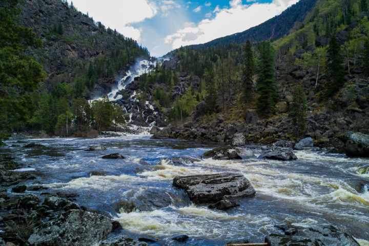 4 день водопад Учар