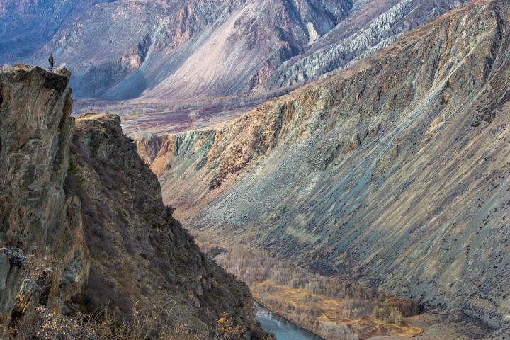 5 день вид с вершины перевала Кату-Ярык