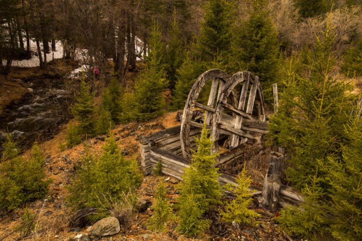 5. Старое водяное колесо
