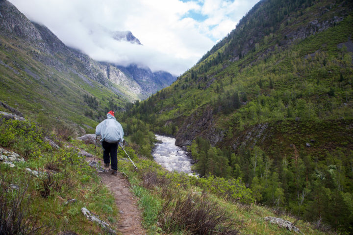 6 день поход к водопаду Учар