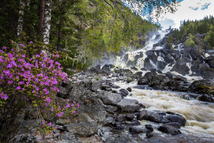 6 день водопад Учар