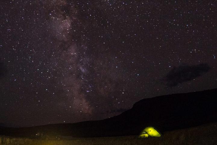 Ночь под звездным небом