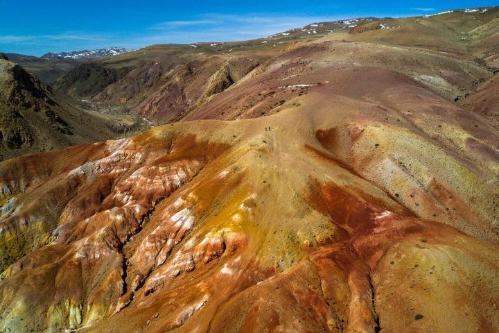 5. Марсианские пейзажи Кызыл-Чина