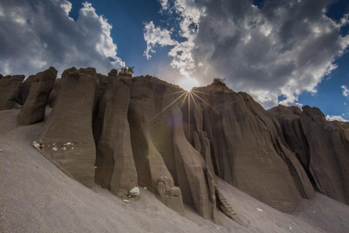 1. Песчаные стены в долине Катуни.