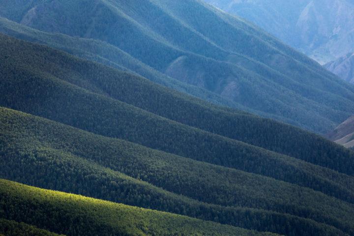 2. Виды с перевала.