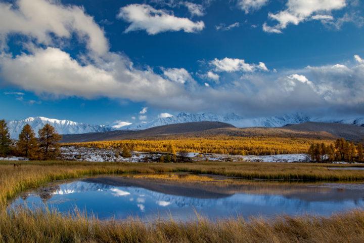 3. Озера на плато.