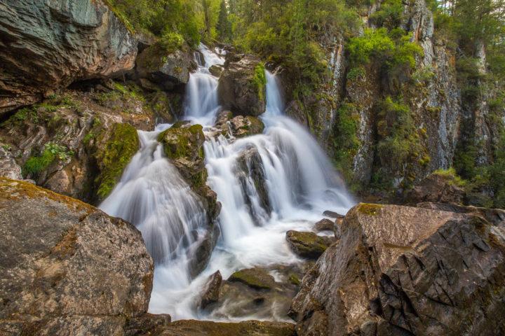 Водопад Нижний Карасу