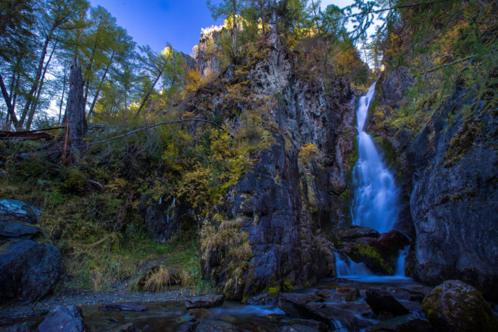 Водопад Верхний Карасу