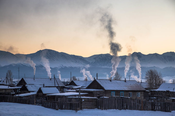 2. Морозное утро в Курае (2)
