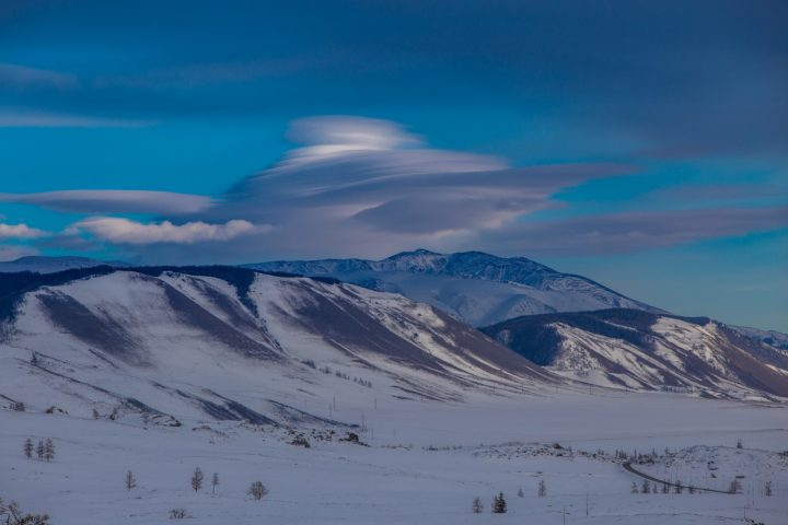 2. Ретикулярные облака над Алтаем