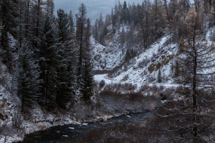 3. Зимняя дорогаочень красива