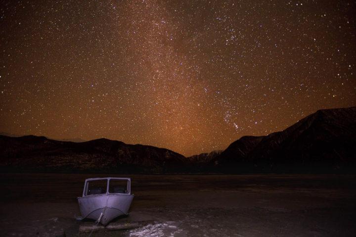 3.Млечный путь над Телецким озером