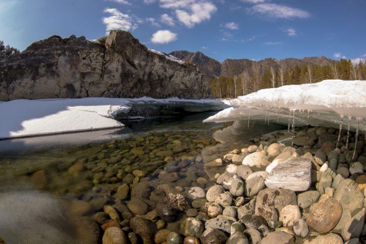 4. Лед на Катуни