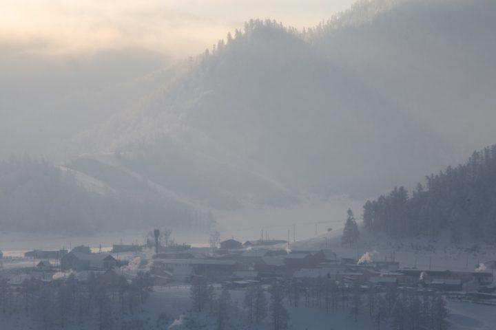 4. Село в мороз