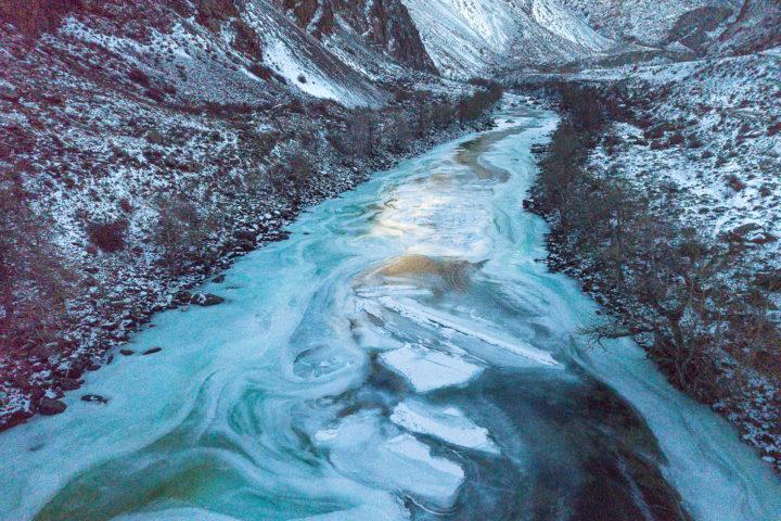4. лед Чулышмана