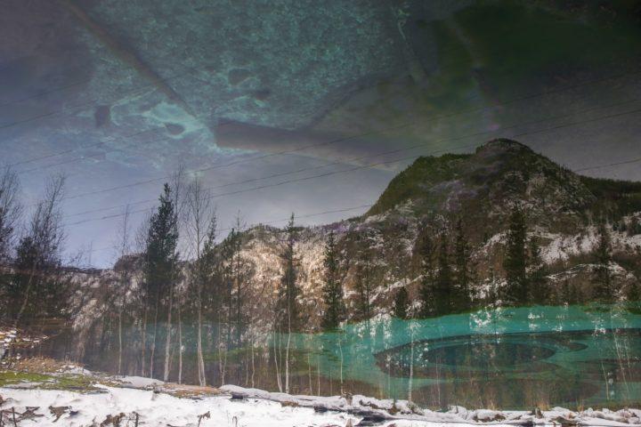 6 Перевернутое отражение Гейзерного озера