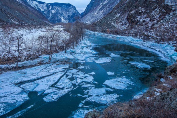6 Зимние реки Алтая