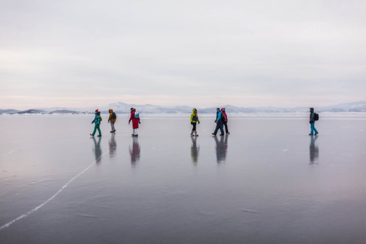 4. Прогулка по льду Байкала