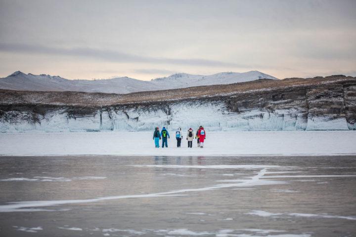 5 Прогулки по льду