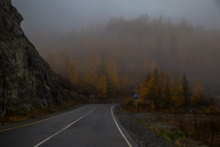 1. Дорога на Телецкое