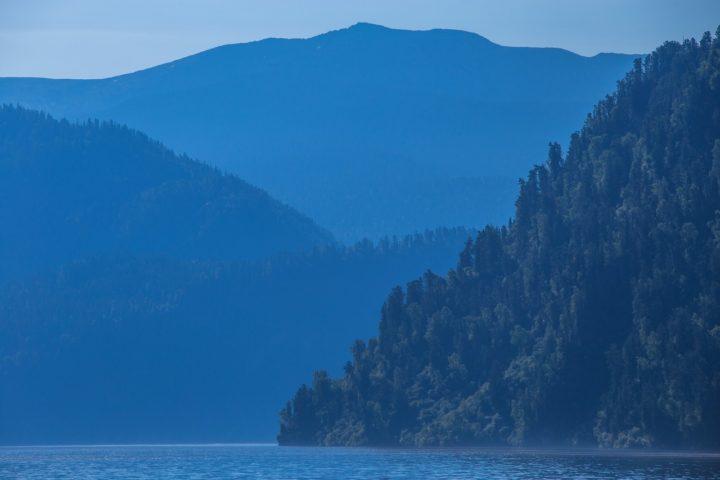 1. На Телецком озере
