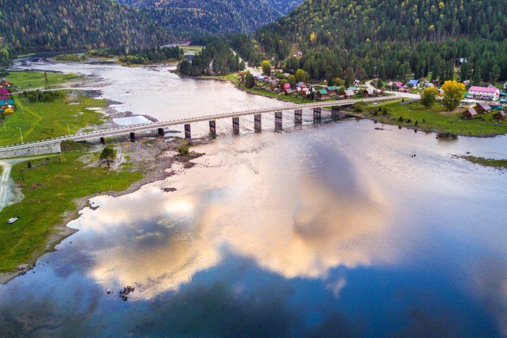 1. Телецкое озеро и начало реки Бия
