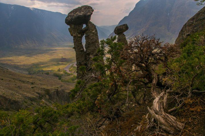 2. Экскурсия на каменные грибы
