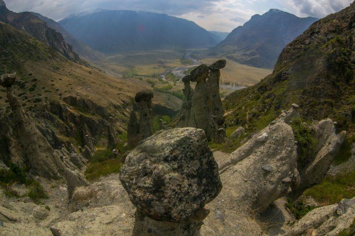 2. Каменные грибы на Алтае