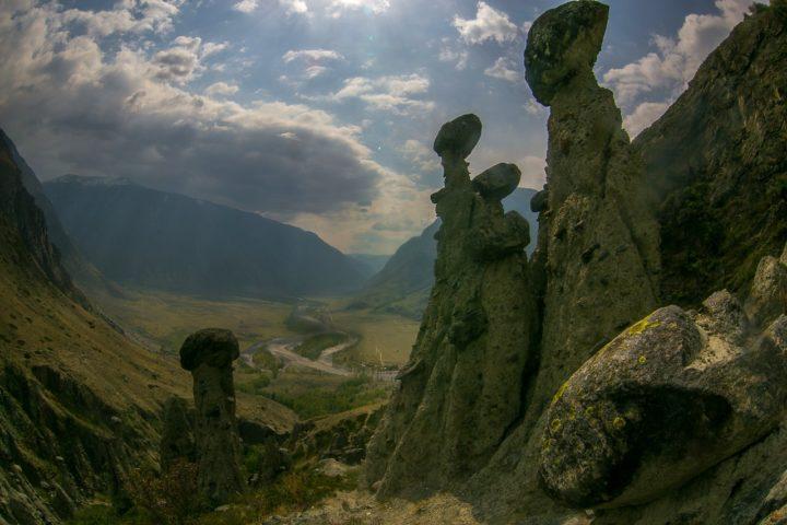 2. Каменные грибы на Алтае летом