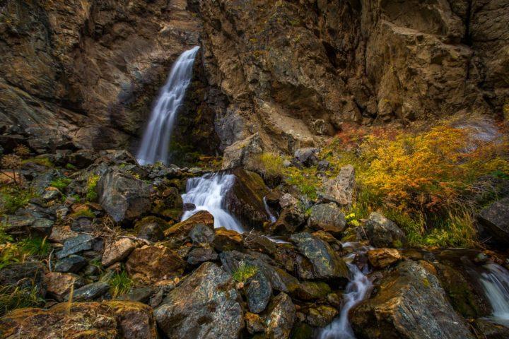 3. Водопады долины Чулышмана.