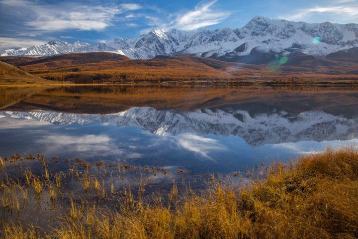 5. Озеро в Курайской степи